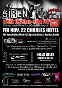 Sound The Siren Rock Fo MS